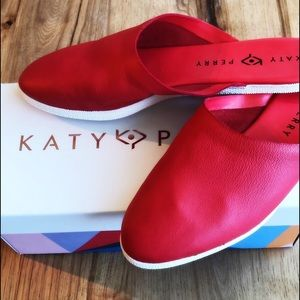 Katy Perry The Marcella Leather Mule. Size 8.